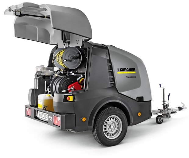 Karcher HDS Hot Water High Pressure Trailers Book a Demo