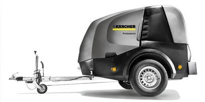 Karcher Hot Water Pressure Washer Trailer Demo