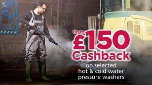 Nilfisk Pressure Washer Cashback Deal
