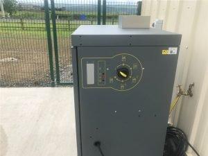 Static Hot Water Pressure Washer Operators Panel