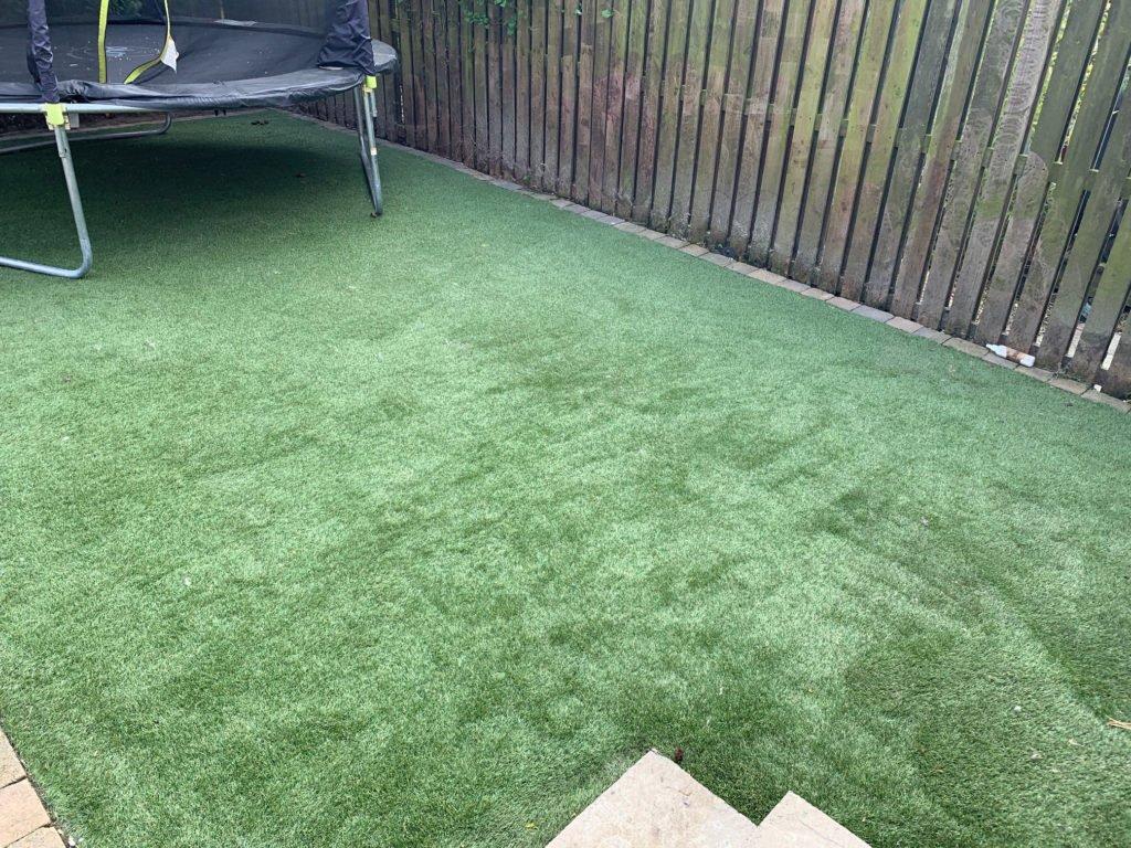 Pressure Washing Artificial Grass