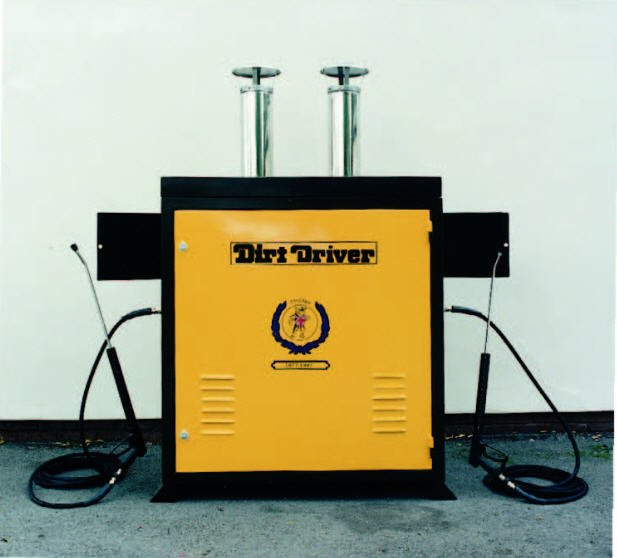 Dirt Driver Static Pressure Washer Cabinet